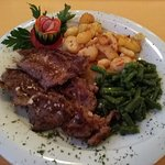 Lamb from grill