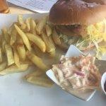 Massive chicken burger