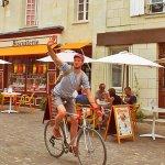 Anjou Vélo Vintage à la Biscuiterie artisanale de Fontevraud