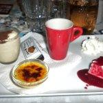 Café gourmand simple et bon: 10euros