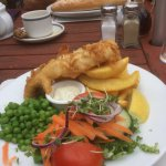 Ride over to this country pub for lunch
