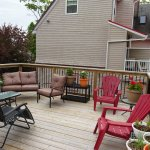 Outside Deck for Relaxing