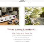 Website incorrectly advises tasting fee refunded with purchase