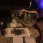Happy Anniversary Surprise from the hotel staff.