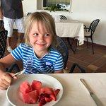 завтрак с любимым арбузом