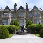 The grand entrance to Muckross House