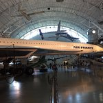 The Concorde was great to see in relation to all the other planes.