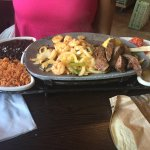 Shrimp & Steak Fajita's