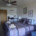 Purple Caribou room - kingsize bed