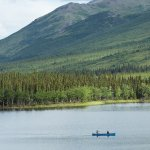 Canoing on Otto Lake