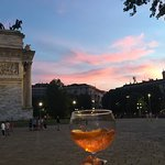 Arch of peace and Aperol's