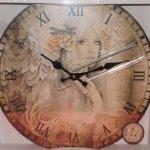 Beautiful Jessica Gelbreth Designer Clock, Stunning piece. £12.99