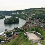 Les Andelys from Chateau Gaillard