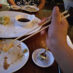 Eating with Chopsticks - with a little support