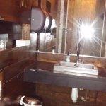 restroom note industrial sink fixture