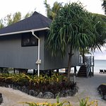 One of the beachfront bungalows!
