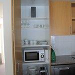 kitchen cupboard & contents