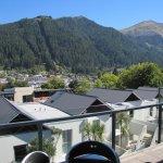 View towards Skyline Gondola from patio/balcony