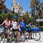 Bike Tours Hollywood in front of Hollywood Tower