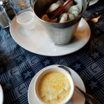 Clams and Soup