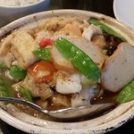 Combination Seafood with Vegetables