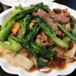 Beef Chow Foon with Vegetables