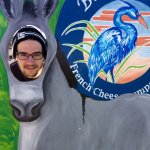Being silly in Tillamook- say cheese!