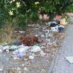 Lots of rubbish on the streets which is a shame