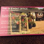 Foto de Old Post Office Bed and Breakfast