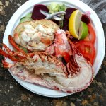 Lobster and crab salad