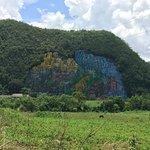 Mural de la Prehistoria Foto