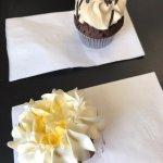 Chocolate stout and lemon berry cupcakes