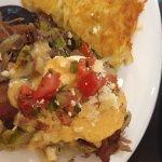 Duck confit eggs benedict from Baja Cafe