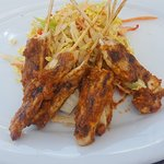 chicken skewers appetizer