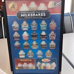 Real Milkshakes made from real Ice Cream!