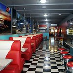 One of the best 1950's style diners we've seen!