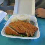 Ahi Katsu .. crispy breaded ahi .. Fresh .. wanting to eat some more! :)