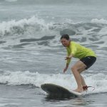 Surfing at 60. Nice!