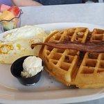 Bacon Waffle Plate