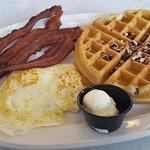 Pecan Waffle Plate
