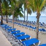 Plenty of beach chairs and shade