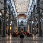View inside the Basilica