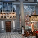 View of Donatello's Bronze pulpits