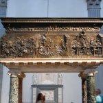 Close-up of Donatello's Bronze pulpits