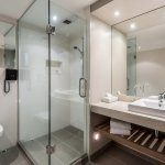 Our newly refurbished bathrooms feature separate shower and bath.