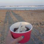 Desserted Island Ice Cream Photo