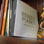 Selection of books on Italian themes - Renzo Piano (architect of the Shard in London)