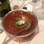 Vindaloo - there were beef chinks in there