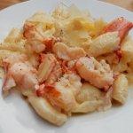 Bland, lukewarm Lobster Mac & Cheese