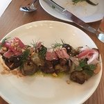 Sunchoke, prosciutto and fig.  Hot damn, this was a unique, crunchy delight.